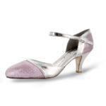701 Glitter-Leder silber-rosa WL17s34