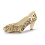 832 Glitter-Leder gold WL17s40