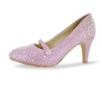 824 Glitter-Strass pink Perle WL17s24